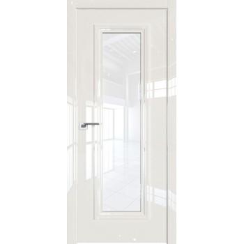 Дверь Профиль дорс 81LK Магнолия люкс - со стеклом (Товар № ZF210126)