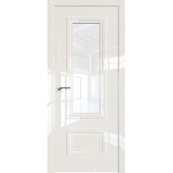 Дверь Профиль дорс 89LK Магнолия люкс - со стеклом (Товар № ZF210127)