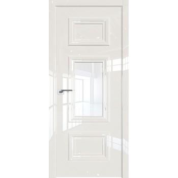 Дверь Профиль дорс 87LK Магнолия люкс - со стеклом (Товар № ZF210128)