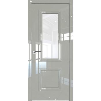 Дверь Профиль дорс 83LK Галька люкс - со стеклом (Товар № ZF210107)