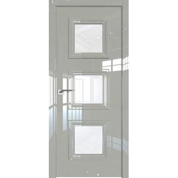 Дверь Профиль дорс 85LK Галька люкс - со стеклом (Товар № ZF210110)