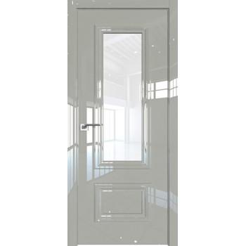 Дверь Профиль дорс 89LK Галька люкс - со стеклом (Товар № ZF210113)