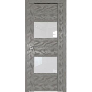 Дверь Профиль дорс 21N Дуб скай деним- со стеклом (Товар № ZF210540)