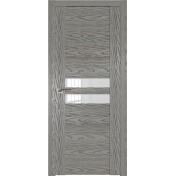 Дверь Профиль дорс 2.03N Дуб скай деним - со стеклом (Товар № ZF210550)