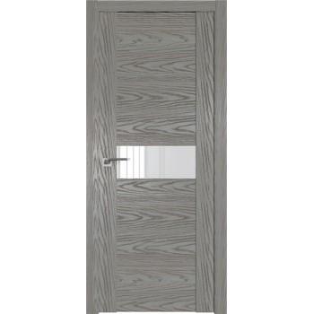 Дверь Профиль дорс 2.05N Дуб скай деним - со стеклом (Товар № ZF210554)