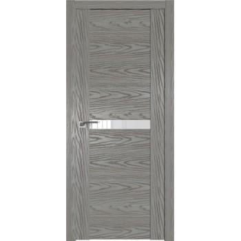 Дверь Профиль дорс 2.01N Дуб скай деним - со стеклом (Товар № ZF210583)