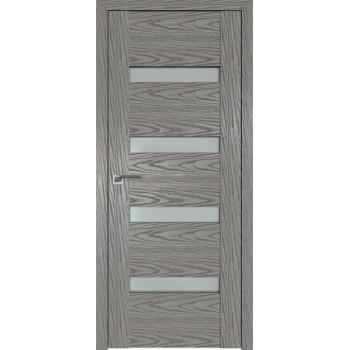 Дверь Профиль дорс 2.81N Дуб скай деним - со стеклом (Товар № ZF210738)