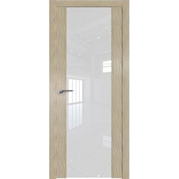 Дверь Профиль дорс 22N Дуб скай крем - со стеклом (Товар № ZF210539)