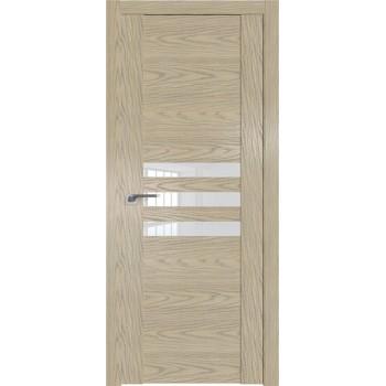 Дверь Профиль дорс 74N Дуб скай крем - со стеклом (Товар № ZF210565)