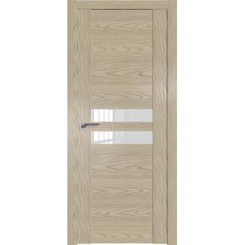Дверь Профиль дорс 2.03N Дуб скай крем - со стеклом (Товар № ZF210553)