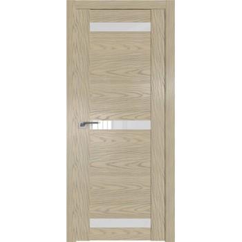 Дверь Профиль дорс 75N Дуб скай крем - со стеклом (Товар № ZF210567)