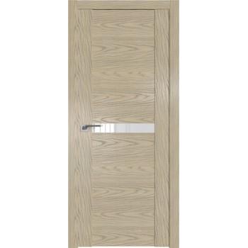 Дверь Профиль дорс 2.01N Дуб скай крем - со стеклом (Товар № ZF210602)