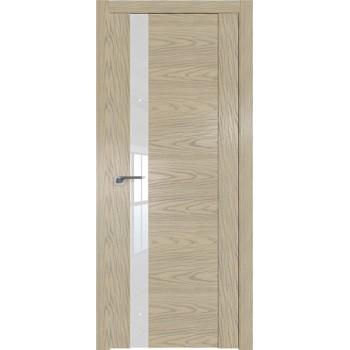 Дверь Профиль дорс 62N Дуб скай крем - со стеклом (Товар № ZF210634)