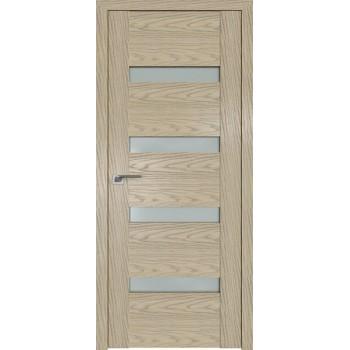 Дверь Профиль дорс 2.81N Дуб скай крем - со стеклом (Товар № ZF210639)