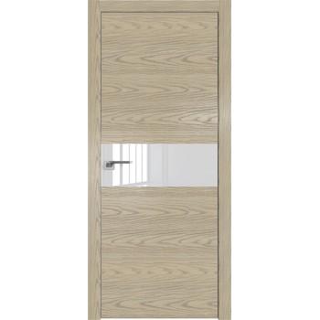 Дверь Профиль дорс 4NK Дуб скай крем - со стеклом (Товар № ZF210628)