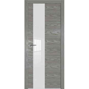 Дверь Профиль дорс 5NK Дуб скай деним - со стеклом (Товар № ZF210627)