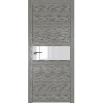 Дверь Профиль дорс 4NK Дуб скай деним - со стеклом (Товар № ZF210596)