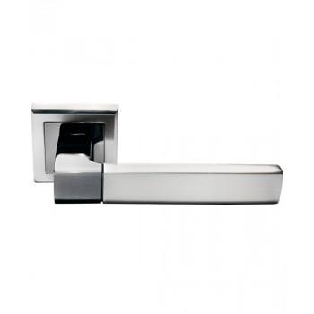 Дверная ручка Morelli DIY MH-28 SN/BN-S Никель белый/Черный никель (Товар № ZF213003)