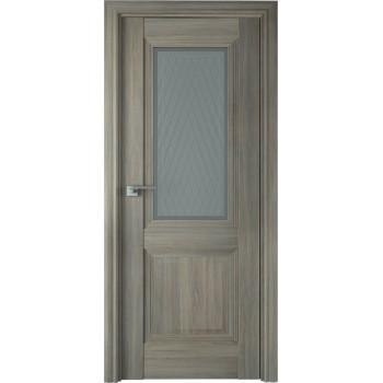 Дверь Профиль дорс 81Х Орех пекан - со стеклом (Товар № ZF209011)