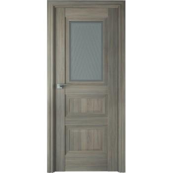 Дверь Профиль дорс 83Х Орех пекан - со стеклом (Товар № ZF209025)