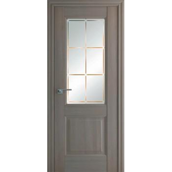 Дверь Профиль дорс 90Х Орех пекан - со стеклом (Товар № ZF209046)