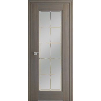 Дверь Профиль дорс 92Х Орех пекан - со стеклом (Товар № ZF209050)