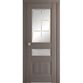 Дверь Профиль дорс 94Х Орех пекан - со стеклом (Товар № ZF209063)