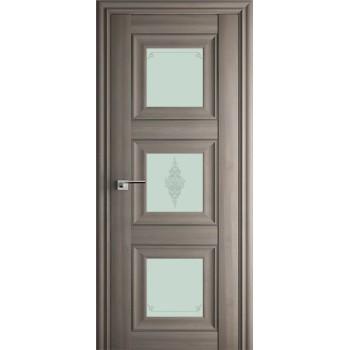 Дверь Профиль дорс 97Х Орех пекан - со стеклом (Товар № ZF209070)