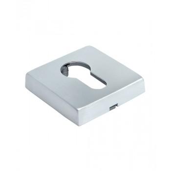 Ключевая накладка Morelli Luxury LUX-KH-SQ CSA Матовый хром (Товар № ZF213168)