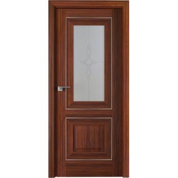Дверь Профиль дорс 28Х Орех амари - со стеклом (Товар № ZF208994)