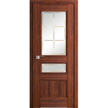 Дверь Профиль дорс 94Х Орех амари - со стеклом (Товар № ZF209004)