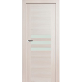 Дверь Профиль дорс 74Х Эш вайт мелинга - со стеклом (Товар № ZF210792)