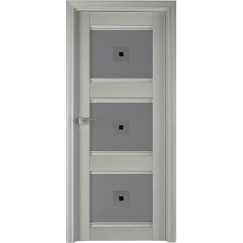 Дверь Профиль дорс 4Х Эш вайт - со стеклом (Товар № ZF208948)