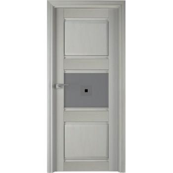 5Х Эш вайт - дверь Профиль дорс со стеклом (Товар № ZF208957)