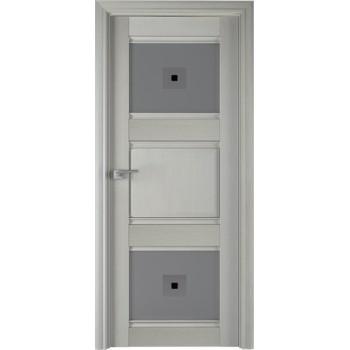 6Х Эш вайт - дверь Профиль дорс со стеклом (Товар № ZF208958)