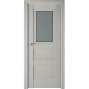Дверь Профиль дорс 83Х Эш вайт - со стеклом (Товар № ZF208960)
