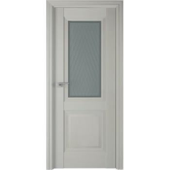 Дверь Профиль дорс 81Х Эш вайт - со стеклом (Товар № ZF208977)