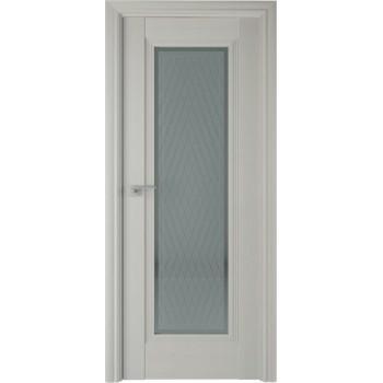 Дверь Профиль дорс 85Х Эш вайт - со стеклом (Товар № ZF208982)