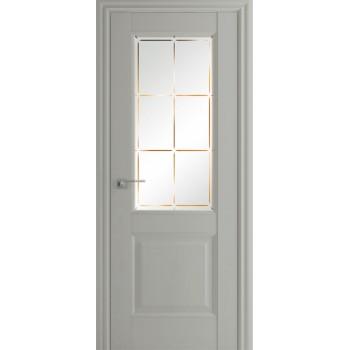 Дверь Профиль дорс 90Х Эш вайт - со стеклом (Товар № ZF208984)