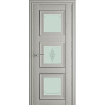 Дверь Профиль дорс 97Х Эш вайт - со стеклом (Товар № ZF208988)