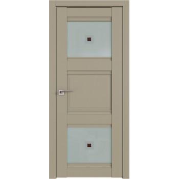 Дверь Профиль Дорс 6U Шеллгрей - со стеклом (Товар № ZF209071)