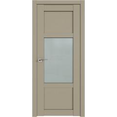 Дверь Профиль дорс 2.15U Шеллгрей - со стеклом (Товар № ZF210996)