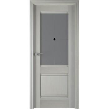 Дверь Профиль дорс 2Х Эш вайт - со стеклом (Товар № ZF208945)