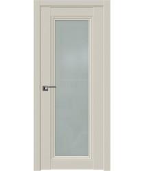 Дверь Профиль дорс 2.101U Магнолия сатинат - со стеклом (Товар № ZF211579)