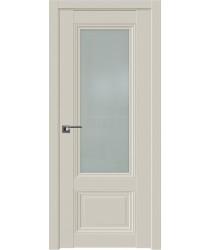 Дверь Профиль дорс 2.103U Магнолия сатинат - со стеклом (Товар № ZF211580)