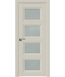 Дверь Профиль дорс 2.107U Магнолия сатинат - со стеклом (Товар № ZF211584)