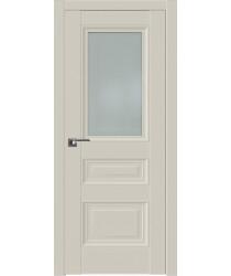 Дверь Профиль дорс 2.115U Магнолия сатинат - со стеклом (Товар № ZF211592)