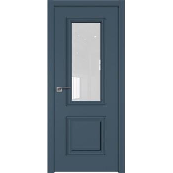 Дверь Профиль дорс 53Е Антрацит - со стеклом (Товар № ZF209539)