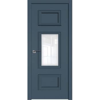 Дверь профиль дорс 57Е Антрацит - со стеклом (Товар № ZF209542)
