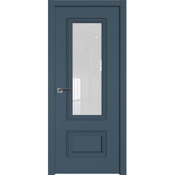 Дверь Профиль дорс 59Е Антрацит - со стеклом (Товар № ZF209544)